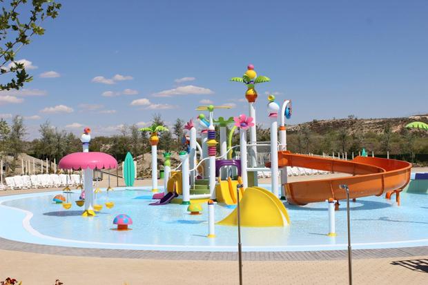 Zona infantil en el parque warner beach